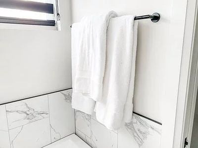 Experts in a bathroom cleaning